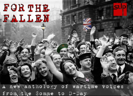 Volume 2. Page 70, Picture 6. World War II. 8th May 1945. Whitehall, London, England. VE Day crowds are in high spirits after Prime Minister Winston Churchill+s speech.